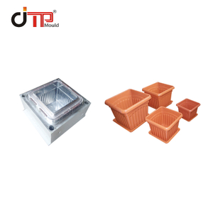 Taizhou Fashion Design Square Plastic Flower Pot Mould