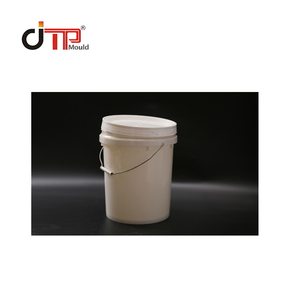 4 Cavity 5L Color Plastic Paint Bucket Mold