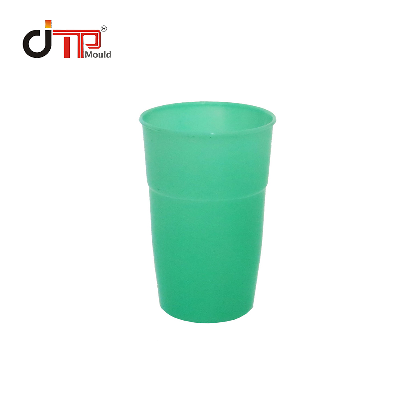 PP Material 2 Cavities Plastic Injection Water Cup Mould