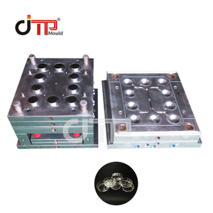 PS Material 10 Cavities Plastic Injection 60 Petri Dish Mould