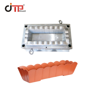 Rectangular Shape Without Tray Plastic Flower Pot Mould