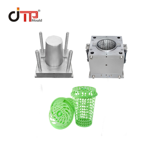 High Quality 75L Plastic Injection Laundry Basket Mould