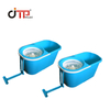 Professional Good Quality Customized Plastic Injection Mop-Bucket Mould